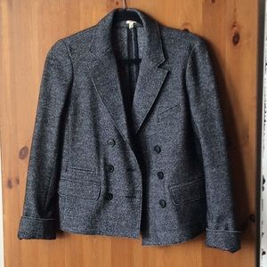 J Crew double breasted blazer